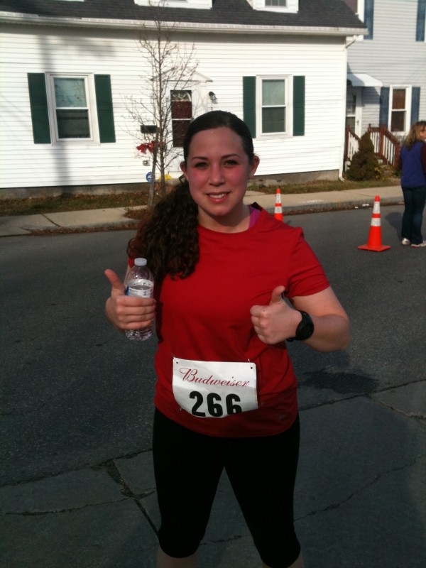First 5-miler on New Years Day 2012.