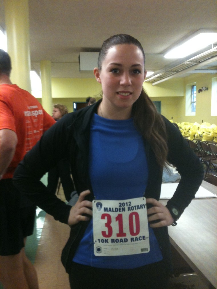 First 10K, March 2012.