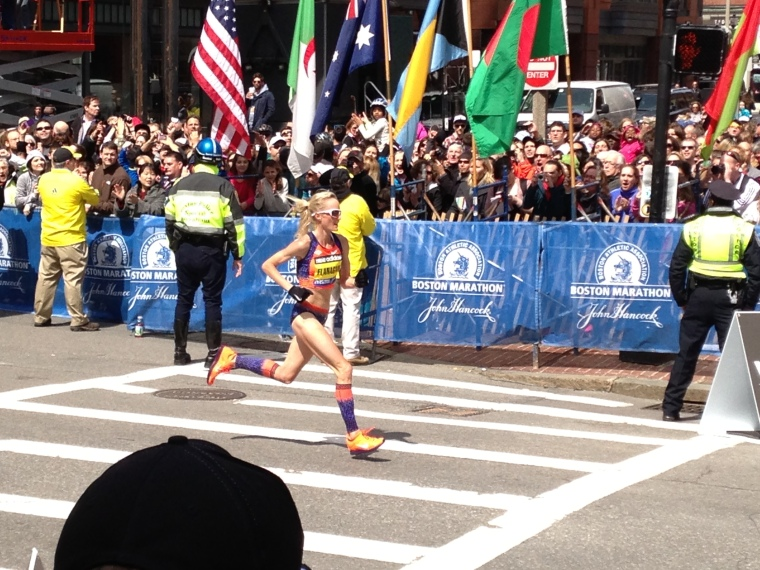 US Olympic Marathoner Shalane Flanagan