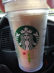 I love my Starbucks cup.