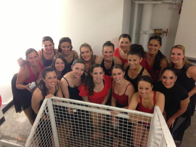 My beautiful dancers. Couldn't have asked for a more incredible group!