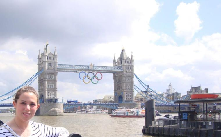 Here I am in London during the Summer Olympics in 2012. Man, I miss that place.