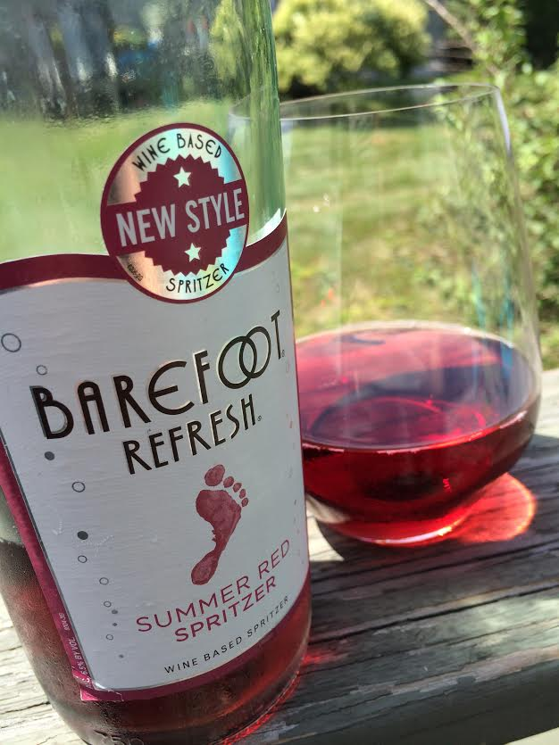 SpritzerSeason with Barefoot Wine