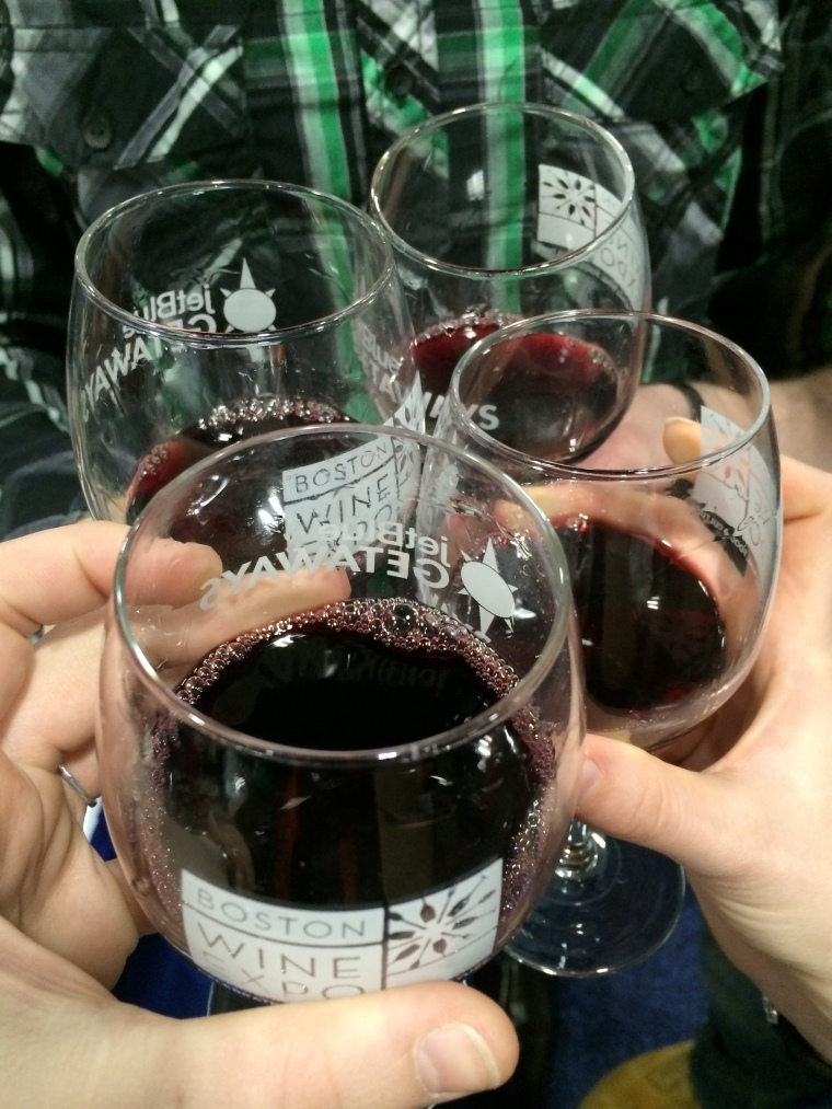 Cheers to another Boston Wine Expo!