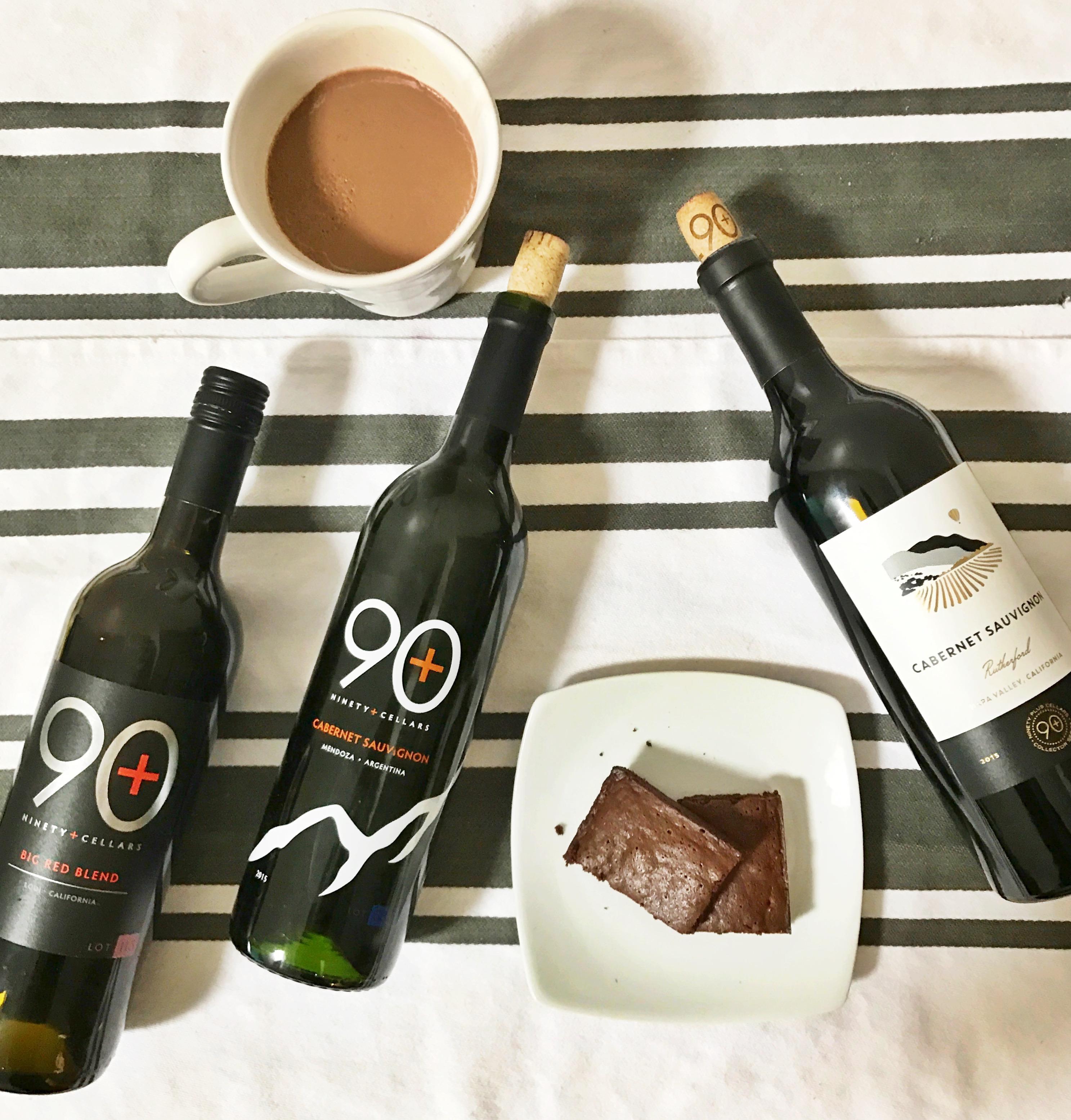 & Recipe Testing: Chocolate and Wine